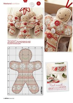 """Photo from album """"Cross Stitch Collection 214 октябрь on Yandex. Xmas Cross Stitch, Cross Stitch Christmas Ornaments, Christmas Embroidery, Christmas Cross, Cross Stitch Charts, Cross Stitch Designs, Cross Stitching, Cross Stitch Embroidery, Cross Stitch Patterns"""