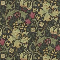 William Morris Golden Lily (Engelska Tapetmagasinet)