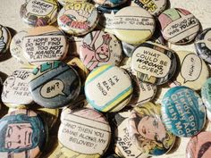 Unique Handmade Wedding Favors 100 1 Inch Pinback by buttonempire, $95.00