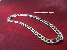 316L Surgical Steel Figaro Bracelet 2.7mm
