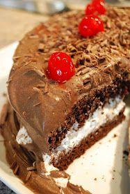 """""""Isabelle Thornton"""" Le Chateau des Fleurs: Foret noire cake recipe"""