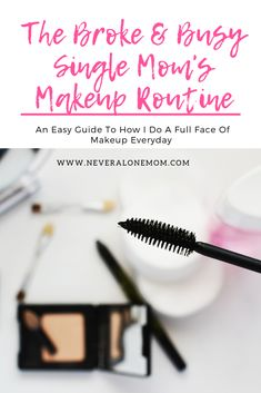Die Make-up-Routine für alleinerziehende Mütter - Full Face Makeup, Love Makeup, Makeup For Moms, Everyday Makeup Routine, Never Alone, Beautiful Lips, Beauty Blender, Travel Size Products, Best Makeup Products