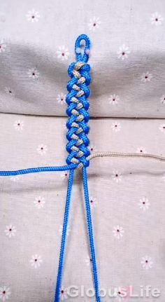 Diy Friendship Bracelets Patterns, Diy Bracelets Easy, Bracelet Crafts, Jewelry Crafts, Knots For Bracelets, Hemp Jewelry, Rope Crafts, Diy Crafts Hacks, String Crafts
