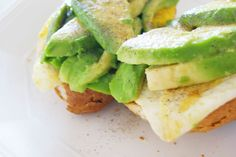 Roxipe. Avocado and Egg on toast! My favourite breakfast, brunch, and lunch!! 😍😍😍😍😍