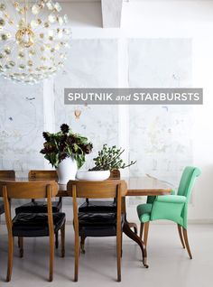 Mid-Century Modern Lighting: Sputnik and Starbursts