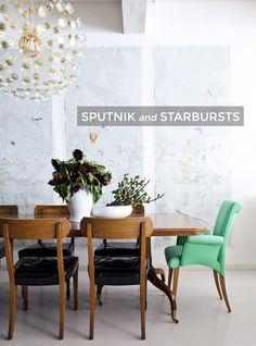 Mid-Century Modern Lighting: Sputnik and Starbursts