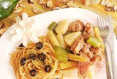 食指大動%Food-Funs: [食譜] 耶誕大餐在家煮「BBQ烤肉義大利麵」好期待聖誕老公公喔~