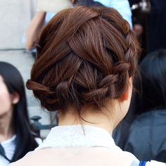 Braided perfection spotted in Paris