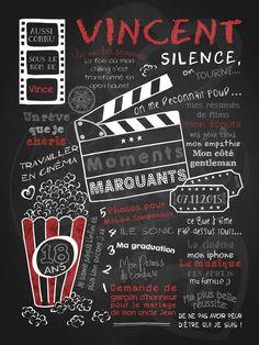 Les cinéphiles ont maintenant leur modèle d'affiche personnalisée! Arrête ton cinéma saura combler les amoureux du grand écran… et du popcorn