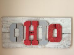 A personal favorite from my Etsy shop https://www.etsy.com/listing/465426233/pallet-reclaimed-ohio-3d-art-wallhanging