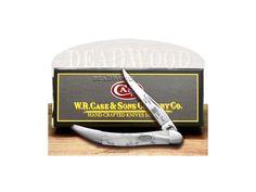 CASE XX White Pearl Genuine Corelon 1/500 Toothpick Pocket Knife - CA910096WP | 910096WP - 026615306665