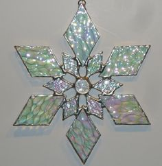 SNOWFLAKE STAINED GLASS - Google Search                              …