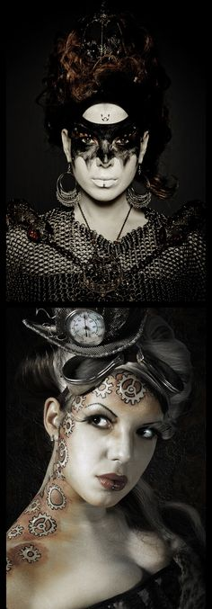 Bangphotography.com - Steampunk Body art MUA Alive Creations Bang Photography is a Melbourne, Aust. based photographer specialising in Alternative Concept, Portrait, Fashion and Editorial Imagery. Please check out my Web Site @ bangphotography.com