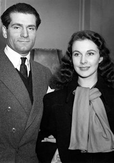 "vivienolivier: "" "" Vivien Leigh and Laurence Olivier in England, January 1941. "" """