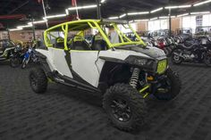 New 2017 Polaris RZR XP 4 1000 EPS White Lightning ATVs For Sale in California.