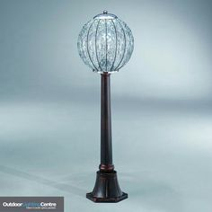 Fabulous modern garden bollard lamps and lights, handblown with Venetian glass and crystal, imported to the UK by Italian Lighting Centre Venetian Glass, Murano Glass, Bollard Lighting, Italian Lighting, Dream Garden, Table Lamp, Bronze, Lights, Spiritual Growth