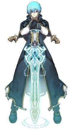 Razeluxe Meitzen from Mana Khemia 2: Fall of Alchemy