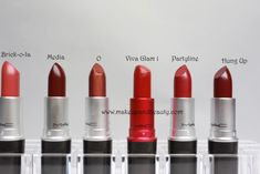 15 MAC lipsticks that brighten up the face, compilation post, all MAC, Mac lovers