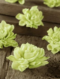 "Sola Flowers 2"" Green Dahlias (9 flowers)#saveoncrafts, #dreamwedding"