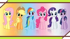 Any one of the Mane Six