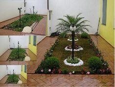 Resultado de imagem para pequeno jardim no quintal