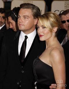 Leonardo Dicaprio and Kate Winslet 66th Annual Golden Globe awards - Red Carpet