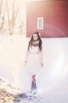 A Winter wedding in Watertown, New York