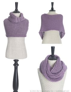 Meringue Cowl 2nd Edition | Free pattern for Kids & Adult