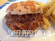 Sweet Pepsi Chicken