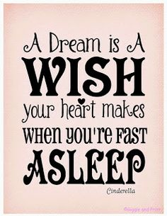 Giggle and Print: A Dream is a Wish Your Heart Makes
