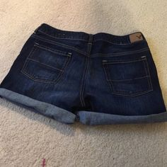 American Eagle Outfitters Shorts - Size 8 Roll Jean shorts.