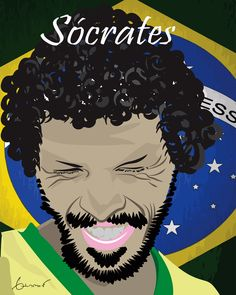 #Socrates #Brazil  #Football