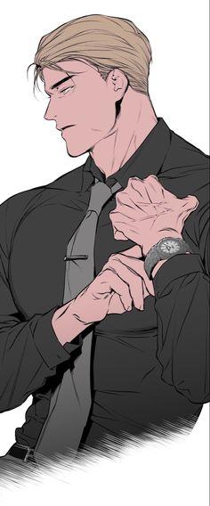 Lezhin Handsome Anime Guys, Hot Anime Guys, Manga Boy, Manga Anime, Fanart, Manhwa Manga, Cute Gay, Fujoshi, Aesthetic Anime