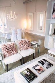 Girly Living Room