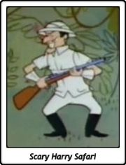 Scary Harry Safari / Scarey Harry Safari / Ruff y Reddy / Ruff and Reddy / Hanna Barberá / Hanna Barbera
