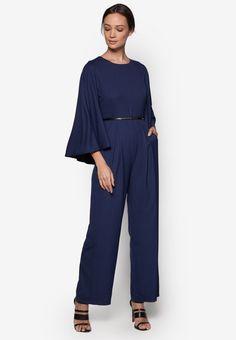 Cape #Jumpsuit for #Women #Fashion through #Zalora #Discount #CollectOffersSingapore