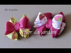 Mini Laço Paris com boca de jacaré - Mini tie - YouTube