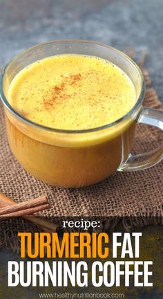 Turmeric Fat Burning Coffee Recipe Coffee is definitely among the top three most popular drinks worldwide, and numerous studies have confirmed that despite its delicious taste Lose Weight Fast Diet, Quick Weight Loss Tips, Weight Gain, Reduce Weight, Healthy Weight, Turmeric Coffee Recipe, Turmeric Recipes, Tumeric Latte, Cellulite