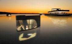 Futuristic Vehicle, Navigating Adriatic Hotel By Ivan Filipovic