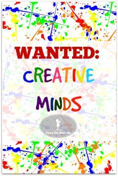8 ways to help your children develop creative minds.