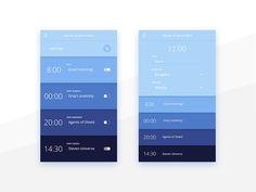 Alarm & Reminder App UI