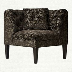 Eaton Tufted Upholstered Corner in Miso Ore and Fossil | Arhaus Furniture