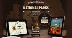 Canyon Country National Parks iPad app by Rally Interactive