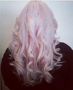 My hair pink #pinkhair #pastel