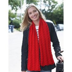 Red Friday Scarf in Bernat Satin. Discover more Patterns by Bernat at LoveCrafts. From knitting & crochet yarn and patterns to embroidery & cross stitch supplies! Shop all the craft materials you need to start your next project. Knitting Patterns Free, Crochet Patterns, Scarf Patterns, Free Pattern, Free Knitting, Crochet Ideas, Crochet Projects, Yarn Projects, Crafty Projects