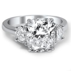 princesa modern engagement ring