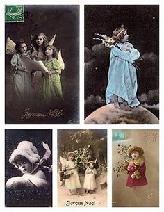 Gorgeous Vintage Style Pics To Print From Magic Moonlight Free Images