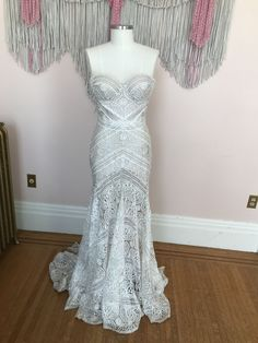 Sexy Sweetheart White Mermaid Lace Long Bridal Gown sold by modsele on Storenvy Boho Wedding Dress, Dream Wedding Dresses, Purple Wedding, Wedding Gowns, Mermaid Wedding, Wedding Hair, Vow Renewal Dress, Informal Weddings, Cute Wedding Ideas