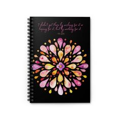 Estee Lauder Quote | Spiral Notebook - Ruled Line