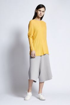 The Box - Aki Cotton and Linen Pullover in Soft Sand Summer Evening, Spring Summer, Cotton Bag, Cashmere, Bell Sleeve Top, Normcore, Pullover, Wool, Fabric